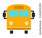 vector bus illustration  ... | Shutterstock .eps vector #1126201394