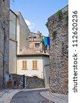 alleyway. amelia. umbria. italy.   Shutterstock . vector #112620236
