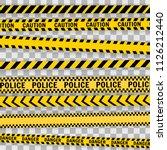 set line on a  transparent... | Shutterstock .eps vector #1126212440
