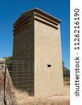 lesser kestrel  nest house ...   Shutterstock . vector #1126216190