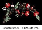 stock vector abstract flower... | Shutterstock .eps vector #1126235798