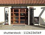 prague  czechia   july 1  2018  ...   Shutterstock . vector #1126236569
