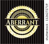 aberrant golden emblem   Shutterstock .eps vector #1126272719
