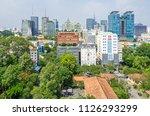 ho chi minh city  vietnam   4... | Shutterstock . vector #1126293299