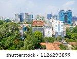 ho chi minh city  vietnam   4... | Shutterstock . vector #1126293899
