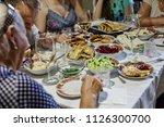 birthday  thanksgiving ... | Shutterstock . vector #1126300700