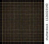 golden check  square  plaid... | Shutterstock .eps vector #1126323140
