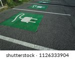 parking for electric cars   Shutterstock . vector #1126333904