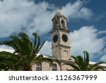 clock towers at the royal naval ... | Shutterstock . vector #1126367999