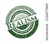 green realism distress rubber... | Shutterstock .eps vector #1126377869