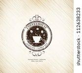 menu for restaurant  cafe  bar  ... | Shutterstock .eps vector #112638233