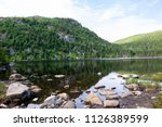 A Mountain Lake In The...