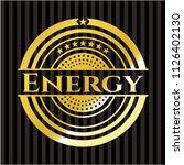 energy gold emblem | Shutterstock .eps vector #1126402130