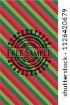free sample christmas style...   Shutterstock .eps vector #1126420679