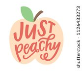 Just Peachy Illustration
