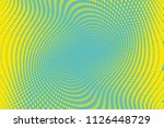 blue yellow halftone dotted... | Shutterstock .eps vector #1126448729