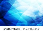 dark blue vector triangle... | Shutterstock .eps vector #1126460519