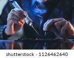 soldering courses.... | Shutterstock . vector #1126462640