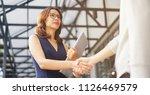 close up investor... | Shutterstock . vector #1126469579