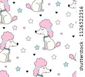 seamless pattern with cute... | Shutterstock .eps vector #1126522316