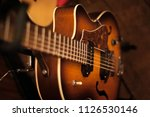 guitar close up | Shutterstock . vector #1126530146