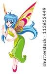 cute fairy   Shutterstock . vector #112653449