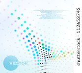 abstract colorful illustration  ... | Shutterstock .eps vector #112653743