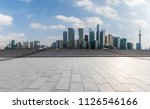 panoramic skyline and buildings ... | Shutterstock . vector #1126546166