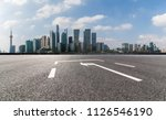 panoramic skyline and buildings ... | Shutterstock . vector #1126546190