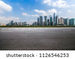 panoramic skyline and buildings ... | Shutterstock . vector #1126546253