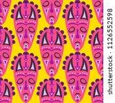 seamless background. african... | Shutterstock .eps vector #1126552598