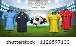 football cup 2018 world... | Shutterstock .eps vector #1126597133