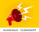 vector icon of a vintage... | Shutterstock .eps vector #1126626659