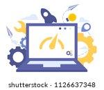 vector creative illustration of ... | Shutterstock .eps vector #1126637348