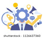 vector creative illustration of ... | Shutterstock .eps vector #1126637360