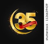 eid al adha 35 years... | Shutterstock .eps vector #1126639439