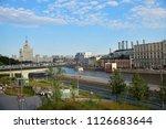 moscow  russia   june 23  2018  ... | Shutterstock . vector #1126683644