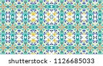 colorful pattern for textile...   Shutterstock . vector #1126685033