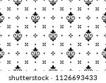 wallpaper in the style of... | Shutterstock .eps vector #1126693433