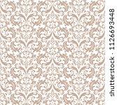 floral pattern. vintage... | Shutterstock .eps vector #1126693448