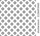 flower geometric pattern.... | Shutterstock .eps vector #1126693460