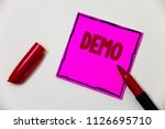 conceptual hand writing showing ... | Shutterstock . vector #1126695710