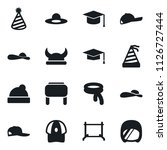 set of simple vector isolated... | Shutterstock .eps vector #1126727444