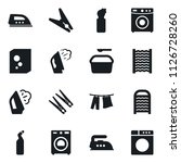 set of simple vector isolated... | Shutterstock .eps vector #1126728260