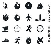 set of simple vector isolated... | Shutterstock .eps vector #1126728299