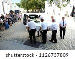 editorial use only. funeral... | Shutterstock . vector #1126737809