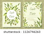 vintage illustration with... | Shutterstock .eps vector #1126746263