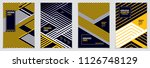 future geometric design... | Shutterstock .eps vector #1126748129