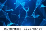 abstract digital background.... | Shutterstock . vector #1126756499
