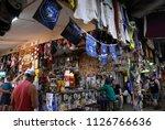 daly waters  australia   jun 13 ... | Shutterstock . vector #1126766636